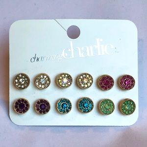 6 Multicolored Pairs of Earrings